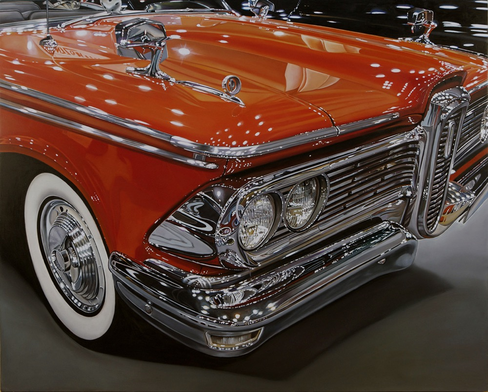59 Edsel 48 x 60 oil on birch